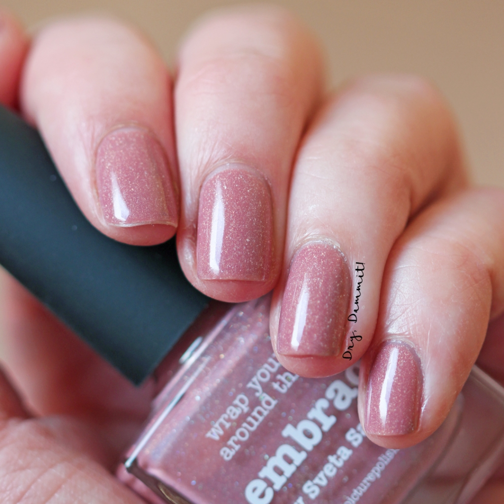 Picture Polish Embrace swatched by Dry, Dammit!